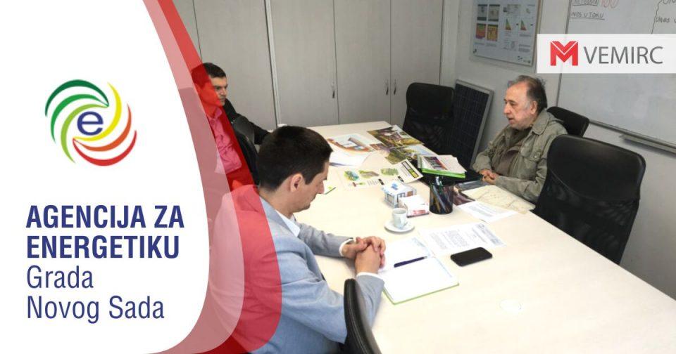 Akademik Veljko Milković posetio Agenciju za energetiku Grada Novog Sada
